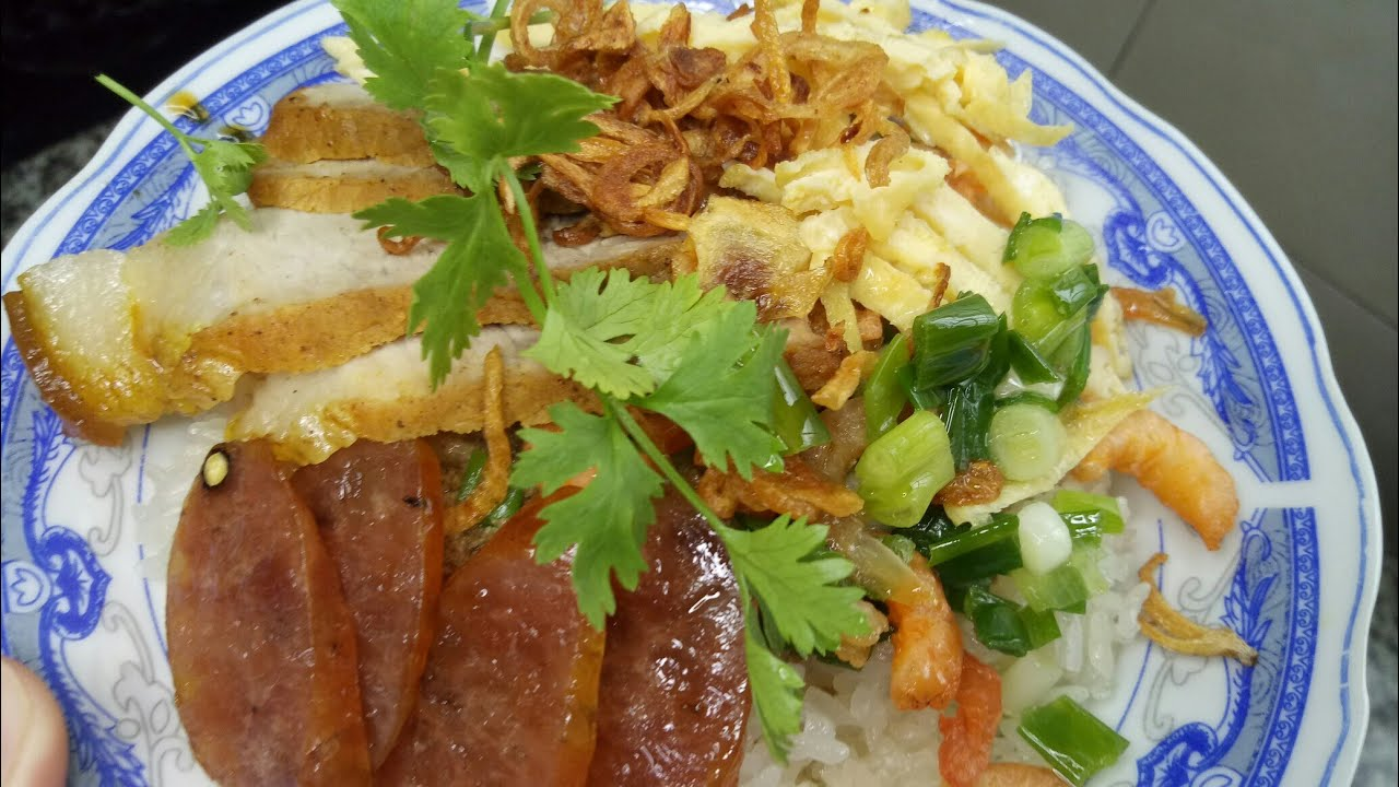 Xôi Mặn – Cách làm XÔI MẶN THỊT KHÌA Miền Tây nhanh gọn – Món Ăn Ngon Mỗi Ngày