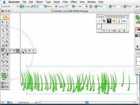 how to make grass texture in illustrator