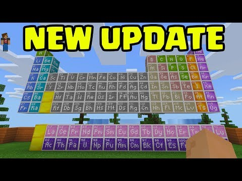 """Minecraft - NEW UPDATE EARLY Gameplay - """"Chemistry Update"""""""