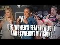 UFC女子フライ級初代王者決定戦トーナメントのエントリーメンバーを決めるトライアウトが開催される。注目選手はロクサン・モダフェリ, ローレン・マーフィー, バーブ・ホンチャック