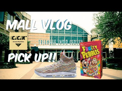 "Mall Vlog, Lebron 15 ""Cereal"" Pick Up, Cream City Kicks (Cleaning Solution) Special Guest???"