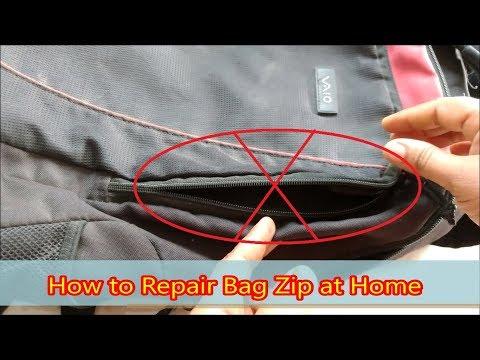 How to Repair Bag Zip at Home || Fix Broken Zipper
