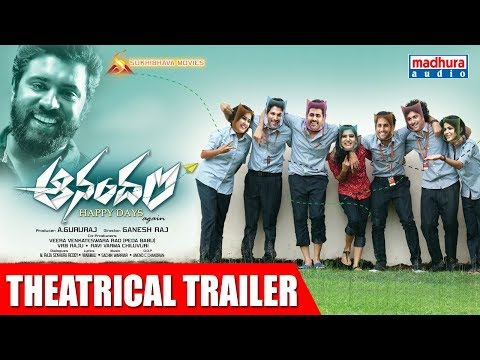 Anandam Telugu Movie Theatrical Trailer ...