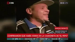"""""""El Pepo"""" internado y acusado de doble homicidio: habla el padre del manager fallecido"""