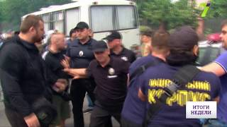 В Одессе радикалы разогнали митинг людей, которые обсуждали будущий микрорайон