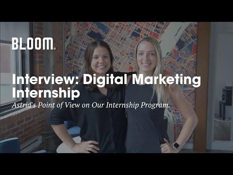 Digital Marketing Internship in Montréal | Bloom