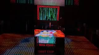 12mm pixel led ile Megastar 2 sahne yer ve duvar  uygulama Emin Ali Tuğcu