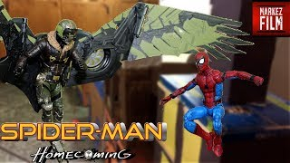 Spider-Man VS The Vulture Stop Motion (The Vulture Vengeance)