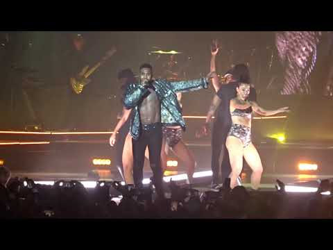 "JASON DERULO am 11. Oktober 2018 in Stuttgart. ""Goodbye""."