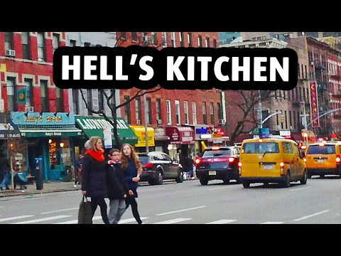 Hell's Kitchen, a Trendy Neighborhood in New York City