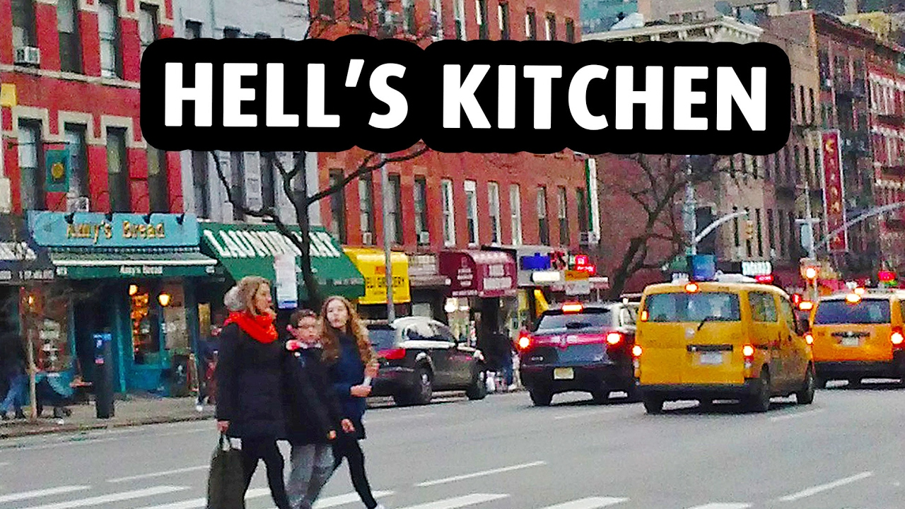 Hells Kitchen, a Trendy Neighborhood in New York City