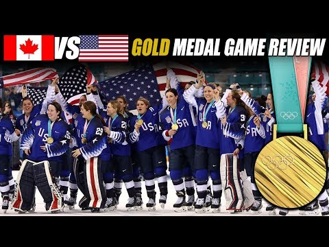 Canada vs USA Women's Gold Medal Game Review
