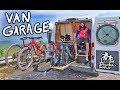 ULTIMATE VANLIFE MOUNTAIN BIKE STORAGE & SHUTTLE VEHICLE // Singletrack Sampler Van Build Ep. 6