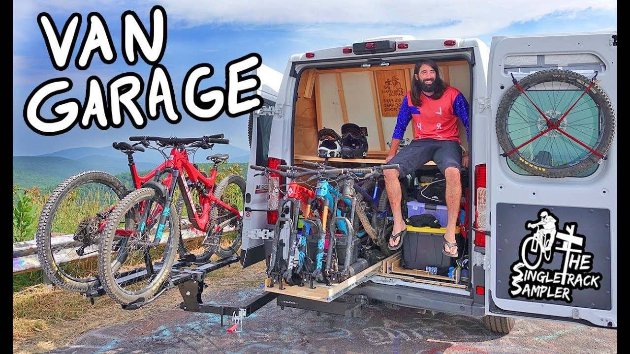Ultimate Vanlife Mountain Bike Storage Amp Shuttle Vehicle