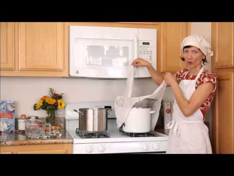 How to Drain Cheese with Cheesecloth | Cheese Making