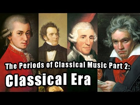 Eras of Classical Music Part 2: Classical
