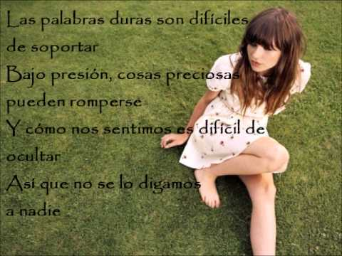 Please dont say you love me gabrielle aplin letra español