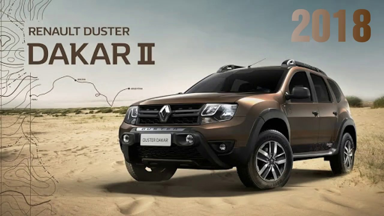 Nova Dacia Duster 2018 >> Nova Renault Duster Dakar 2017/2018 - YouTube
