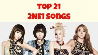 #ThankYou2NE1 [TOP 21] 2NE1 SONGS by MiniKpop