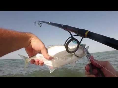 Shore Fishing Puerto Penasco (Rocky Point) Mexico June 2014 GoPro HD