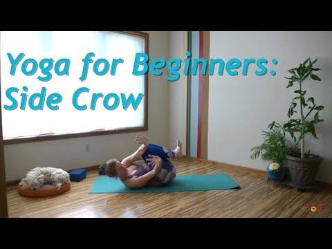 Yoga for Beginners: Side Crow (Parsva Bakasana)