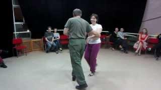 Основы парного танца - Юрий и Ольга
