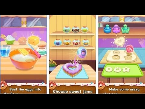 Make Donut - Kids Cooking Game - Videos Games for Kids - Girls - Baby Android