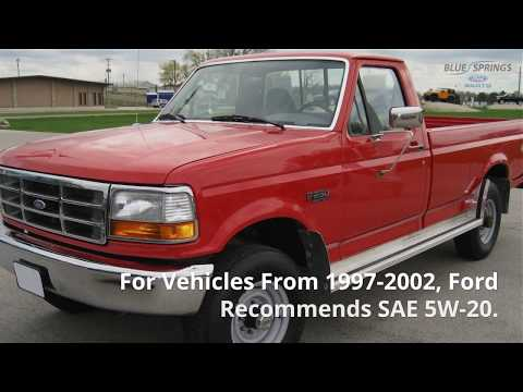 Should You Use Synthetic Oil in Your F-150?: Genuine Ford