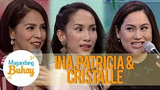 Magandang Buhay Patricia, Ina and Cristalle tell the adjustments they did for their husban ...