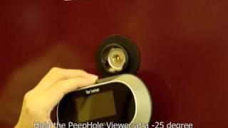 Brinno PeepHole Viewer - Installation Demo