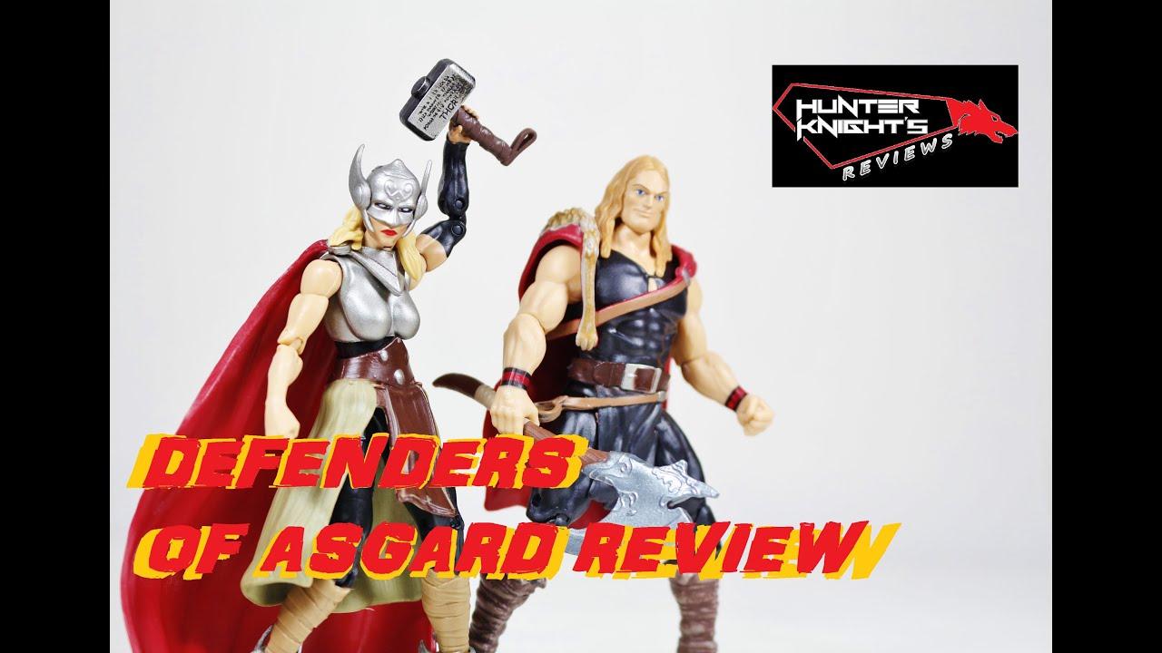 Marvel Legends Secret Wars Defenders of Asgard Comic 2-Pack odinson Lady Thor