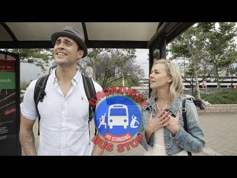 Broadway Bus Stop [feat Cheyenne Jackson] | Skitso Comedy | Skitsofrenic