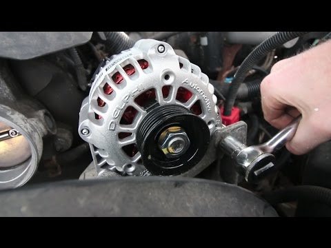 Alternator Replacement Chevy Silverado