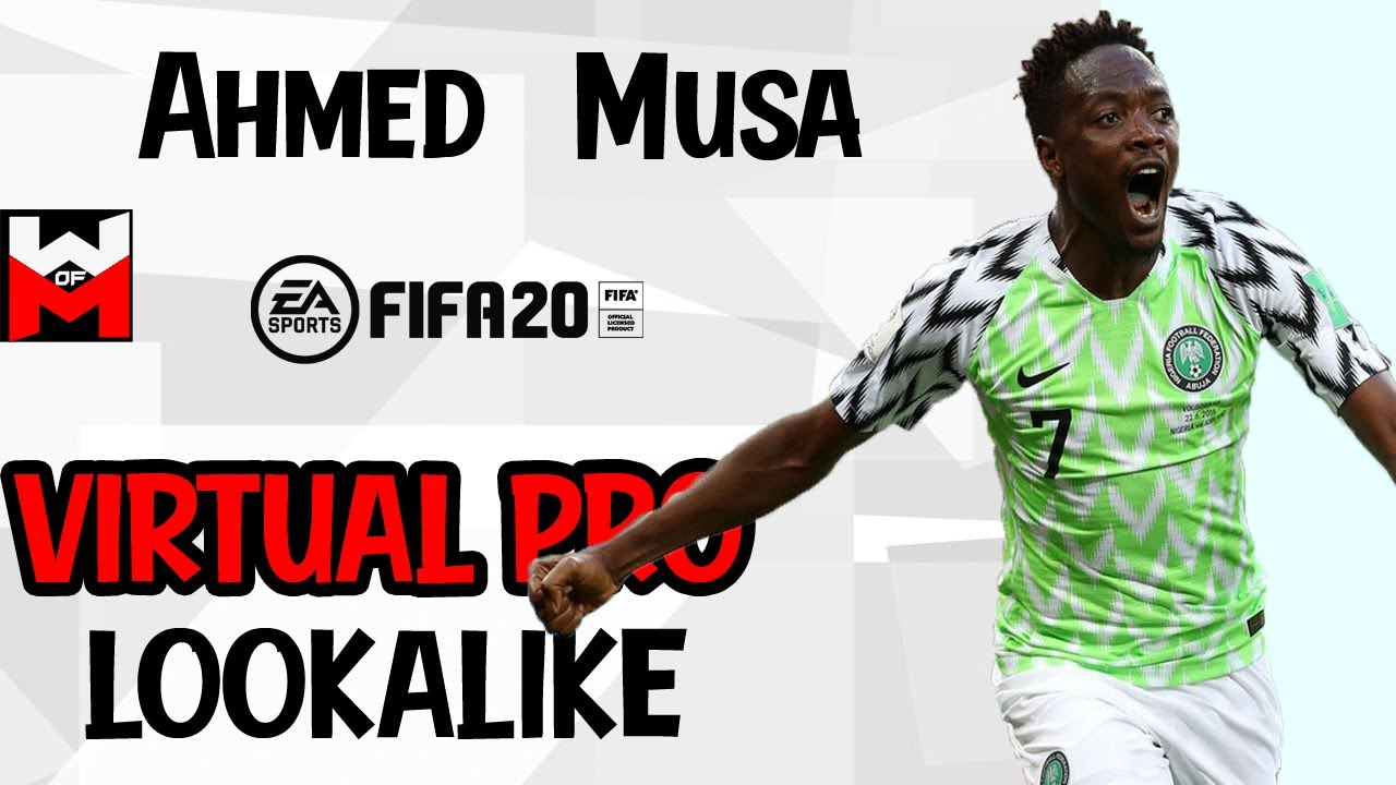 FIFA 20 | VIRTUAL PRO LOOKALIKE TUTORIAL - Ahmed Musa