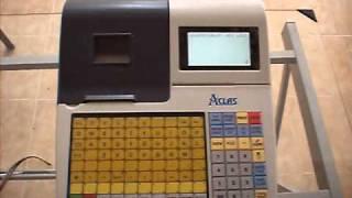 Activar Cajero Cajas Registradoras Fiscales Aclas - Error 2 Cajero no registrado