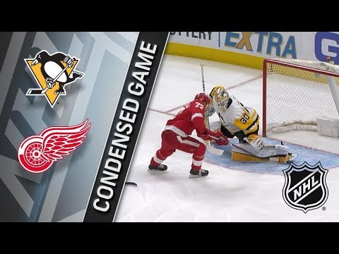 Pittsburgh Penguins vs Detroit Red Wings – Mar. 27, 2018 | Game Highlights | NHL 2017/18. Обзор