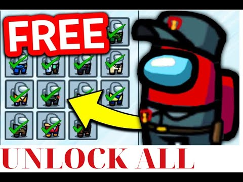 Download How To Unlock All Skins, Pets & Hats In Among Us! Get Free Skins In Among Us 2021!!