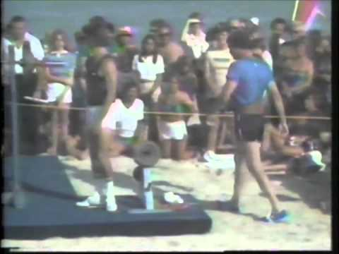 1981 Superstars Final - Weight Lifting - Billy Sims