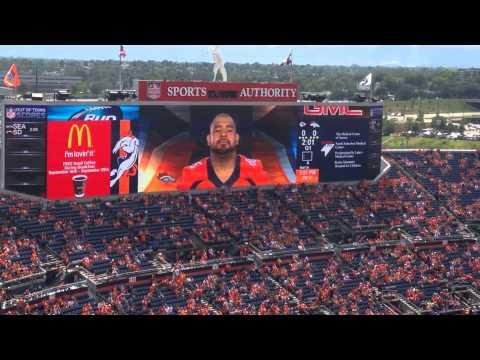 2014 Denver Broncos Roster Intro