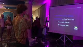Караоке в отеле Джаз Аквамарин Отдых в Египте 2021 Роскошный голос
