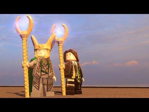 LEGO Marvelu0027s Avengers   Loki | Free Roam Gameplay [HD 1080p]