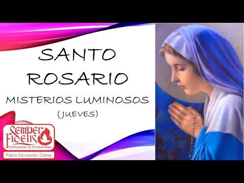 Santo Rosario Misterios de Luz  (jueves)