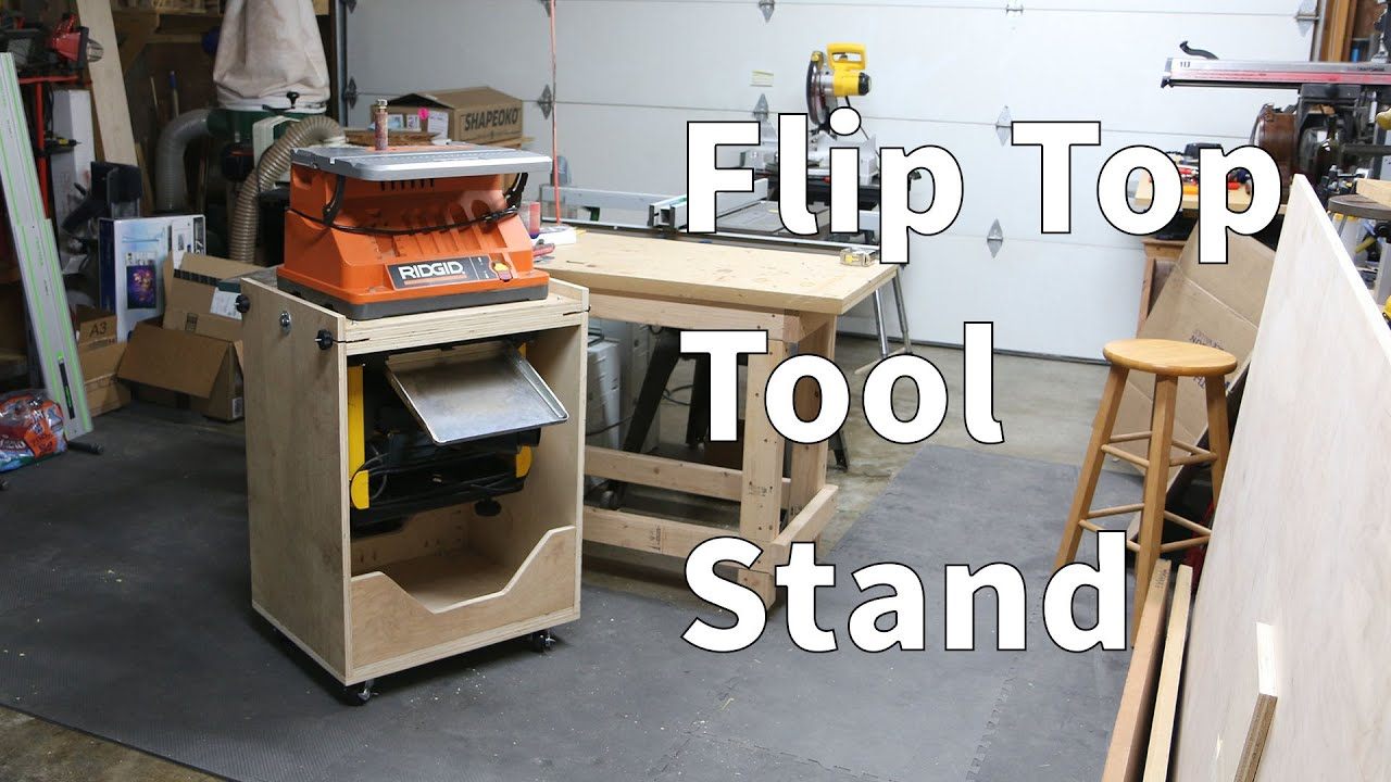 Flip Top Tool Stand Youtube