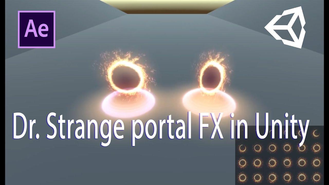 Dr  Strange portal FX in Unity