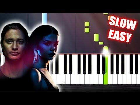 Kygo, Selena Gomez - It Ain't Me - SLOW EASY Piano Tutorial By PlutaX