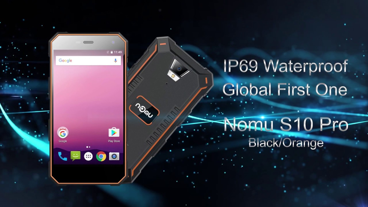 Nomu S10 Pro has an IP69 waterproof rating (for no good