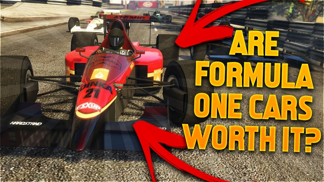 Are Formula One cars worth buying in GTA 5 Online? (June 2020)