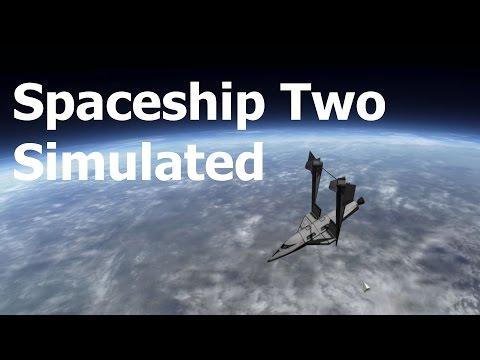 Kerbal Spaceship Two / Virgin Galactic.