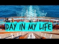 A Day in My Life on Semester at Sea!