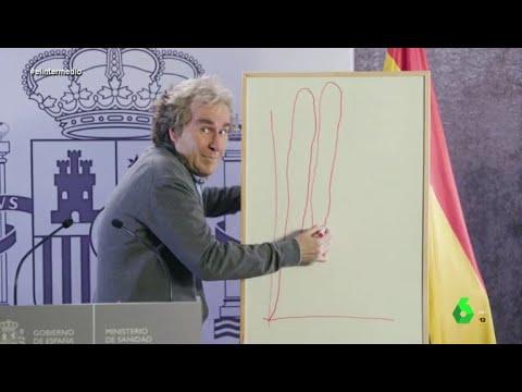 """La imitación de Joaquín Reyes a Fernando Simón, """"icono pop de 2020"""" - El Intermedio"""